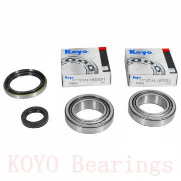 KOYO 3NCHAC020C angular contact ball bearings