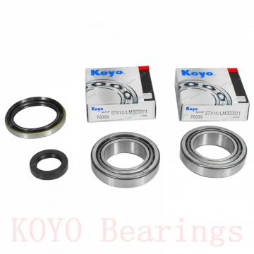 KOYO DC4924VW cylindrical roller bearings
